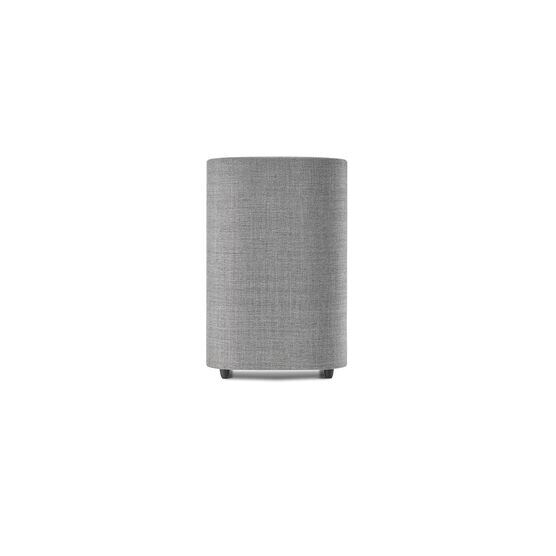 Harman Kardon Citation Sub S - Grey - Compact wireless subwoofer with deep bass - Front