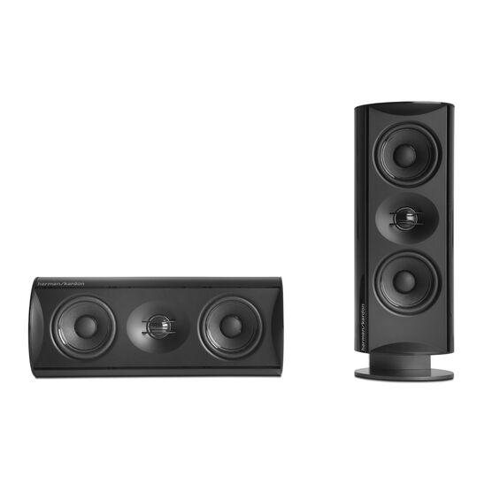 HKTS 30 - Black - 5.1-channel, 120 watt home theater system - Detailshot 1