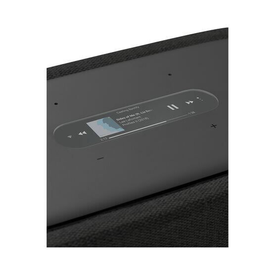 Harman Kardon Citation 300 - Black - The medium-size smart home speaker with award winning design - Detailshot 1