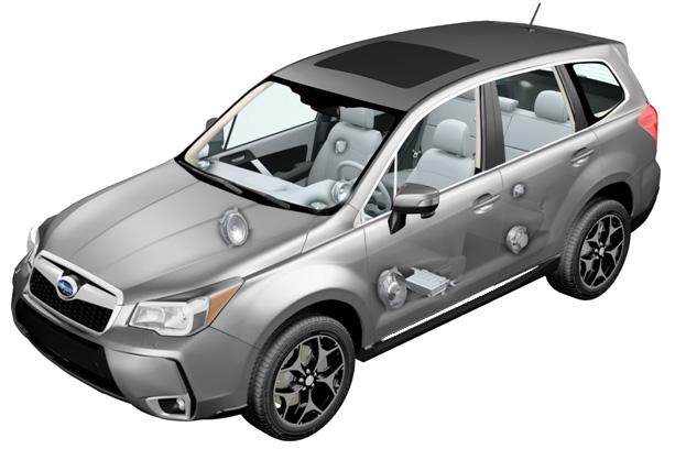 Harman Kardon + Subaru Forester