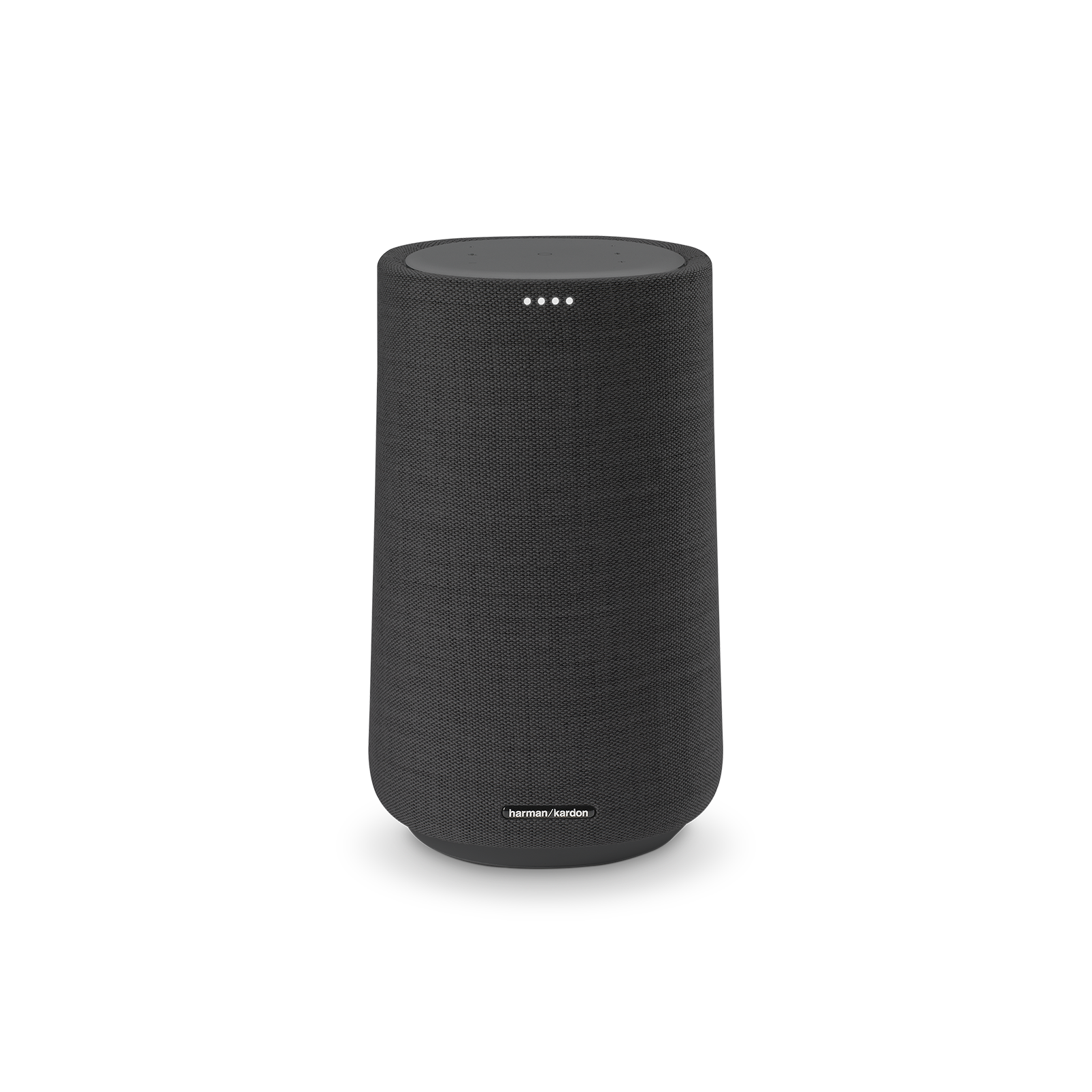 Harman Kardon Citation 100 MKII - Black - Bring rich wireless sound to any space with the smart and compact Harman Kardon Citation 100 mkII. Its innovative features include AirPlay, Chromecast built-in and the Google Assistant. - Front