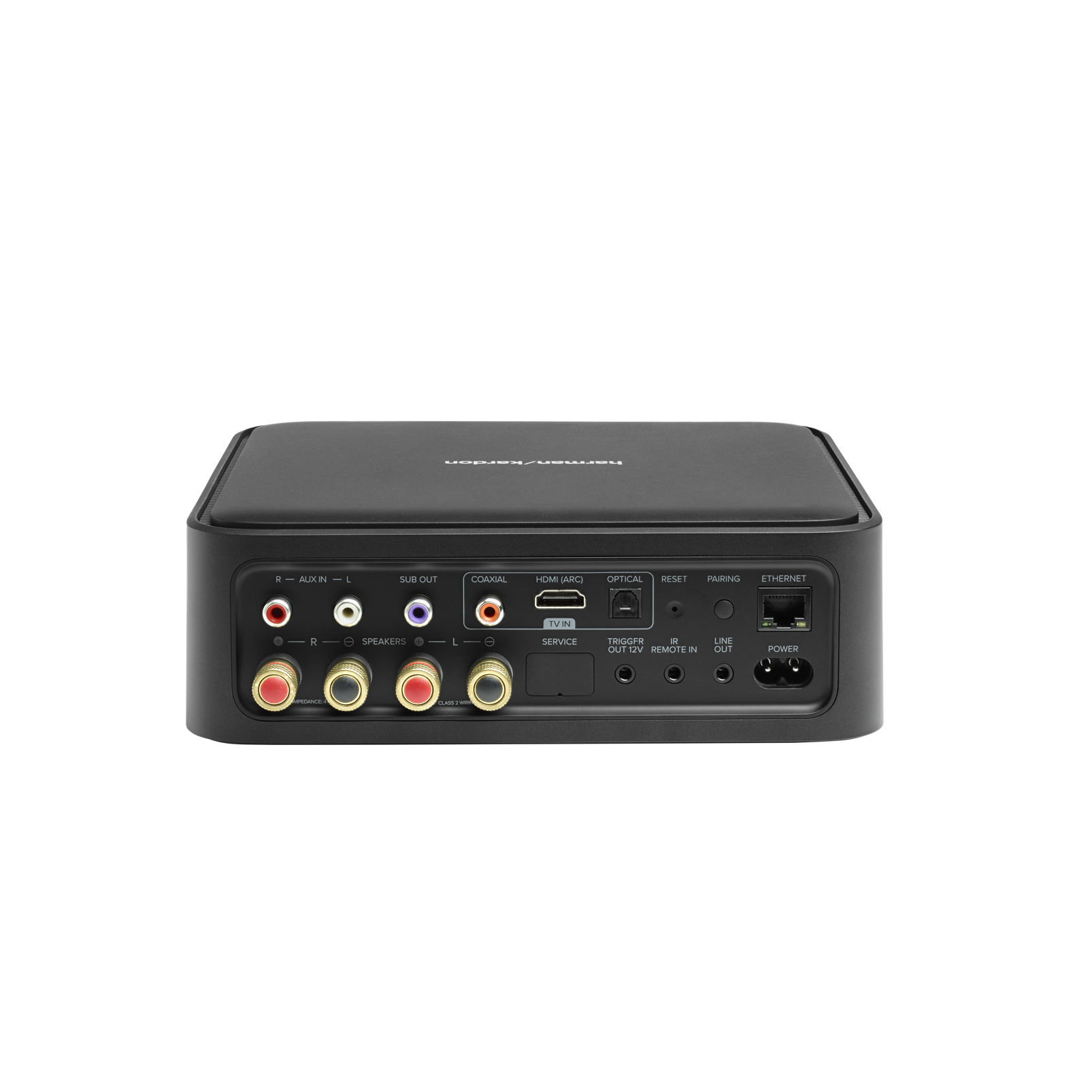 Harman Kardon Citation Amp - Black - High-power, wireless streaming stereo amplifier - Back