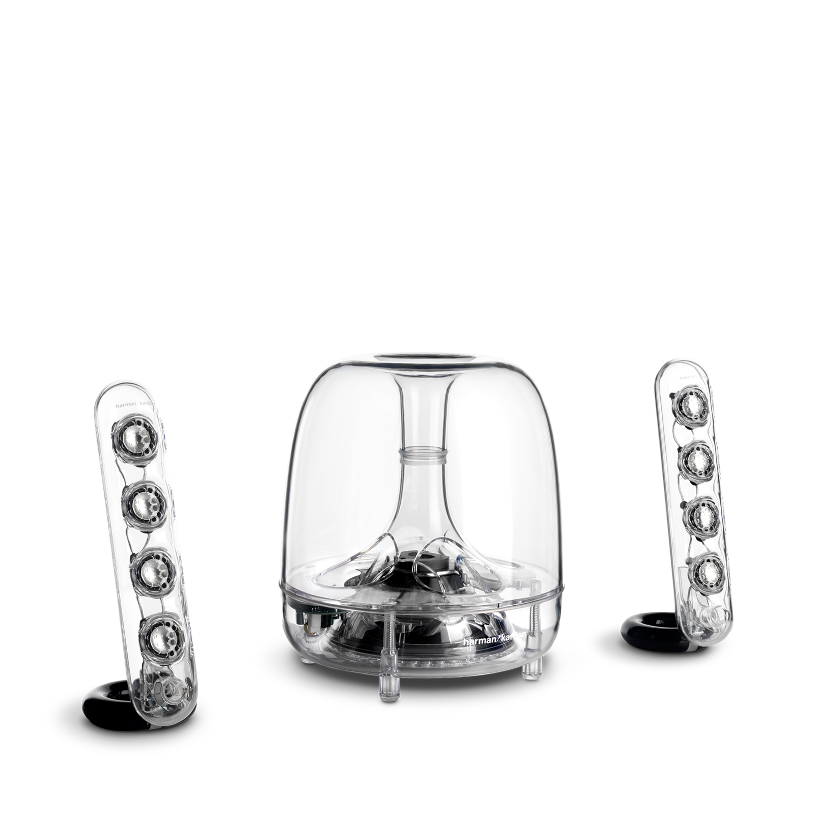 SoundSticks III - Clear - Three-piece, 2.1-channel multimedia sound system - Detailshot 4