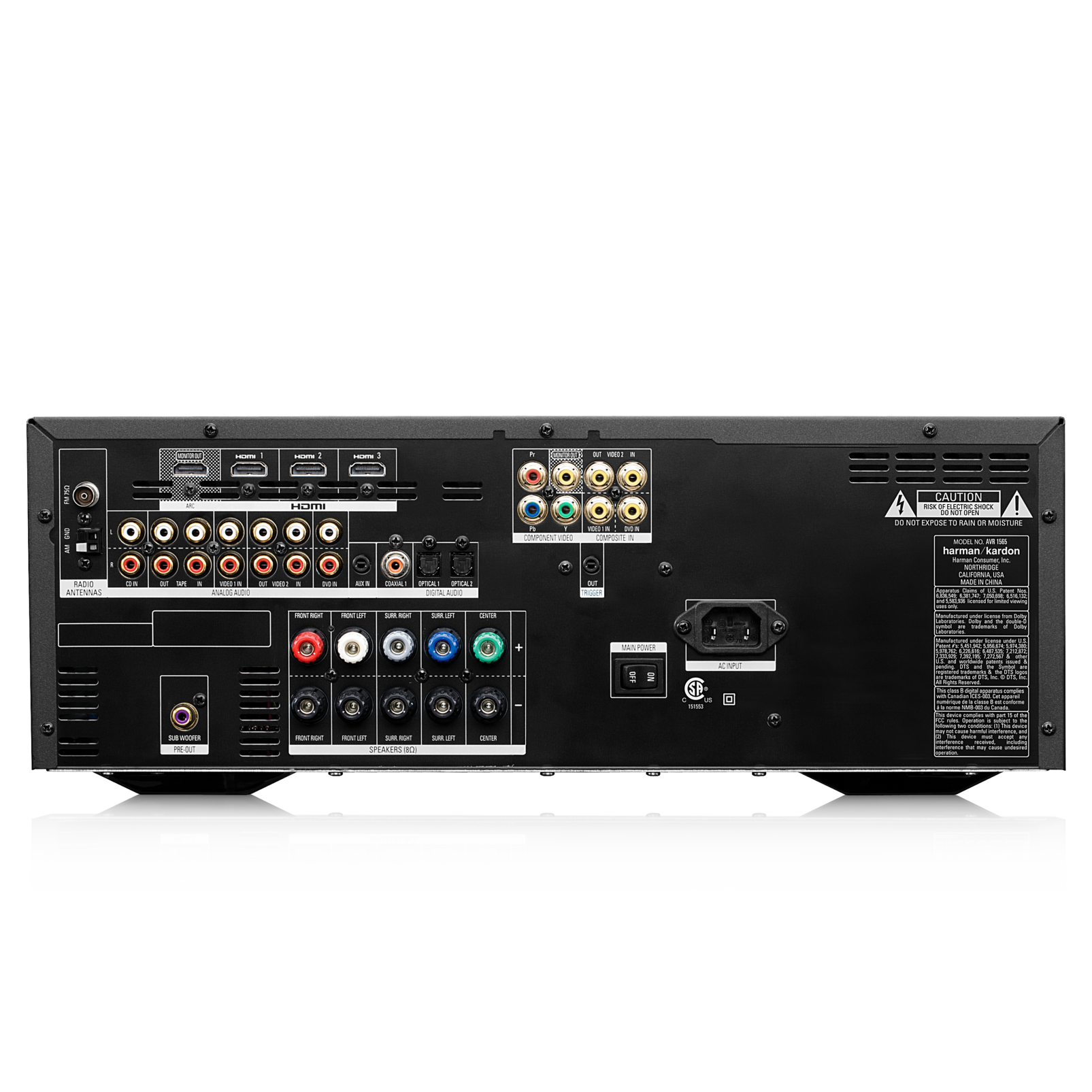 home theater 1000 complete 5 1 channel entertainment system rh harmankardon co uk harman kardon avr 1565 owners manual