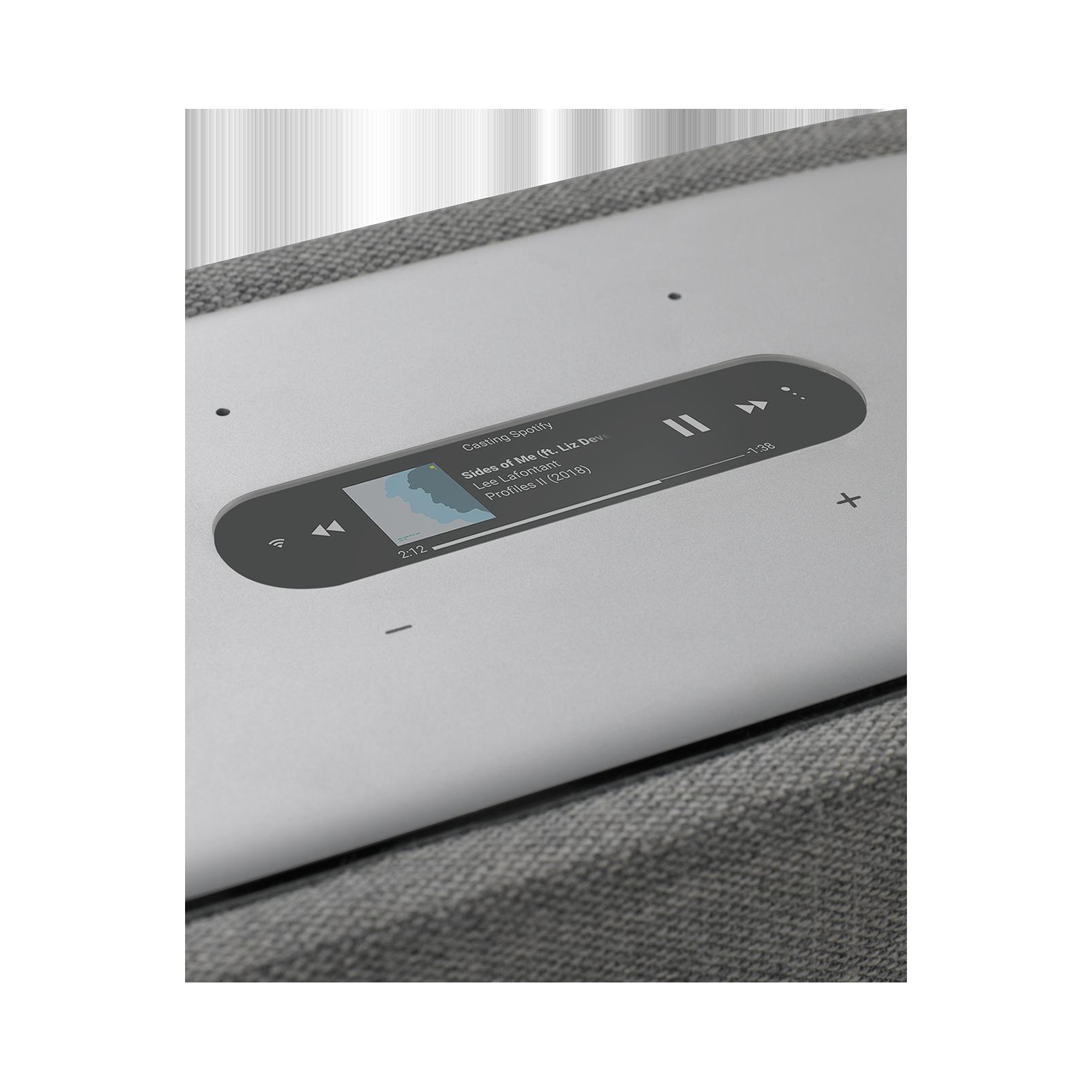 Harman Kardon Citation 300 - Grey - The medium-size smart home speaker with award winning design - Detailshot 1