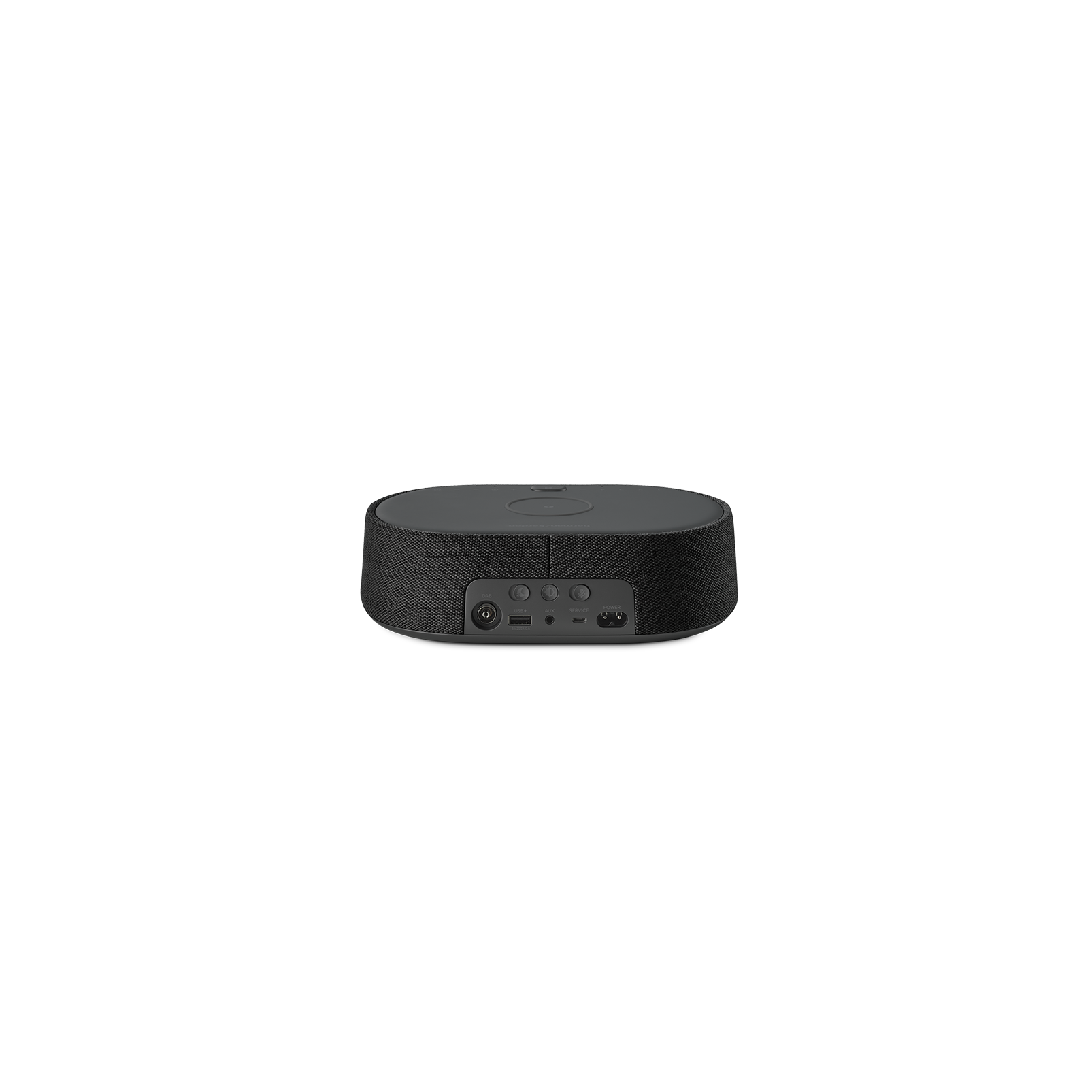 Harman Kardon Citation Oasis DAB - Black - Voice-controlled speaker with DAB/DAB+ radio and wireless phone charging - Back