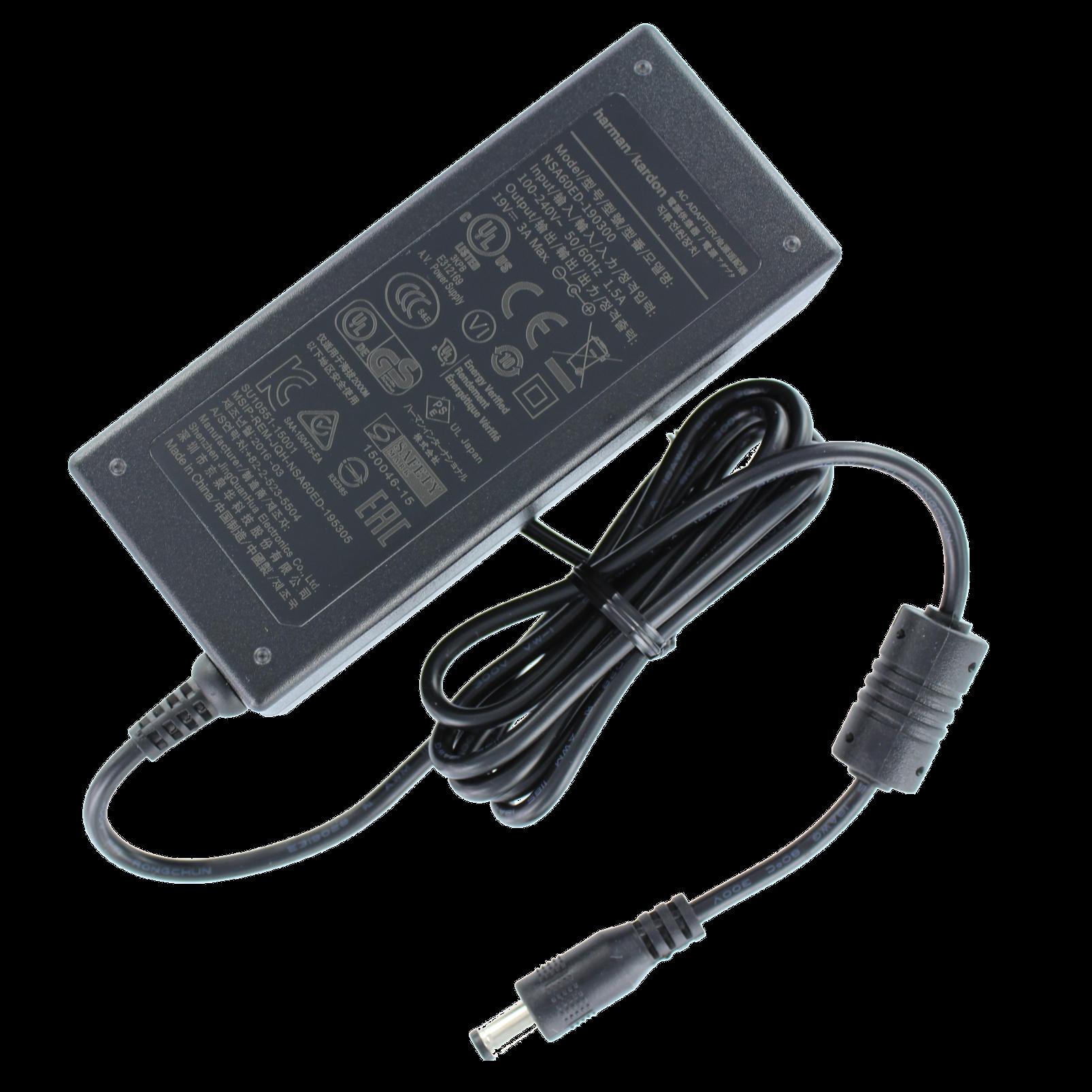 Harman Kardon Power adaptor for Go + Play - Black - Power adaptor - Hero